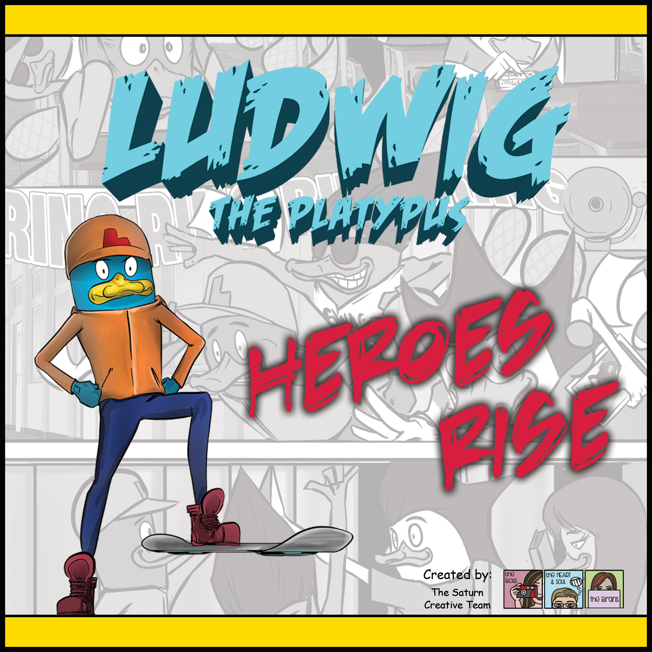 Ludwig Album Cover - Heroes Rise